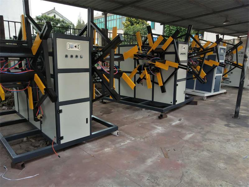 厂家直销收卷机PVC双盘绕管机定制