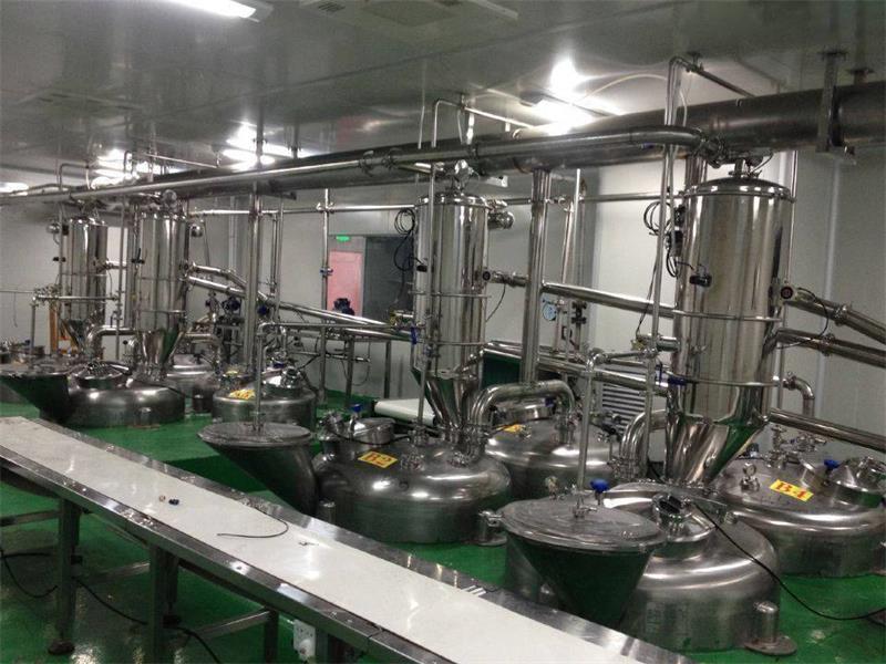 食品粉末真空上料机生产现场